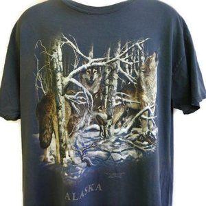 Alaska Wolf Wolves 11 Hidden Vintage 90s
